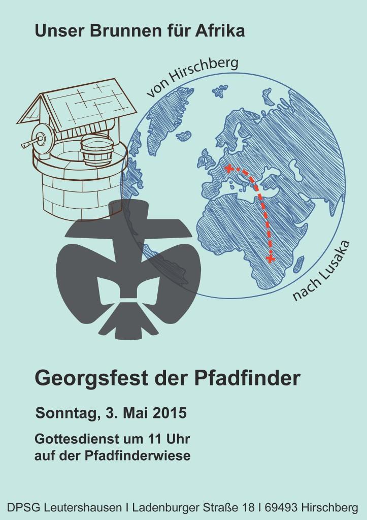 Plakat Georgsfest 2015